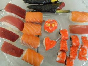 sushi schaal