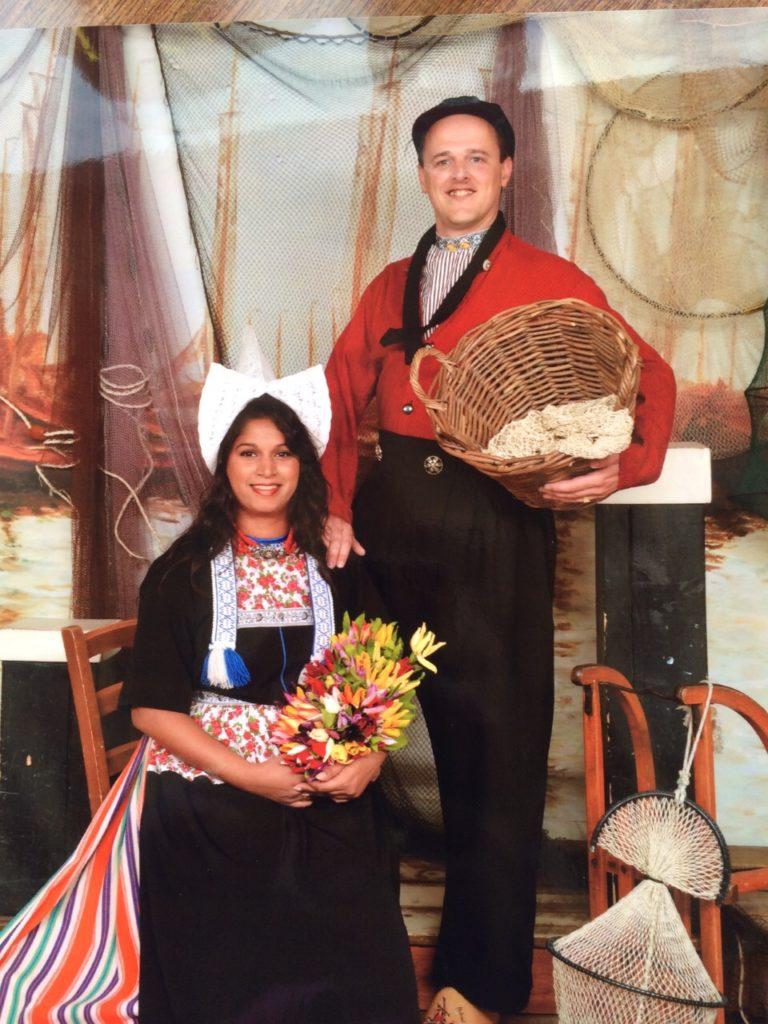 traditionele Volendamse klederdracht